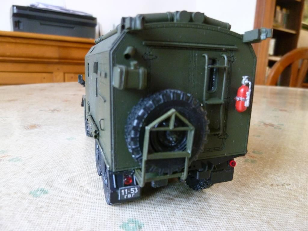 ZIL 131 shelter radio réalisé à partir d'une base SSM (Start Scale Models)