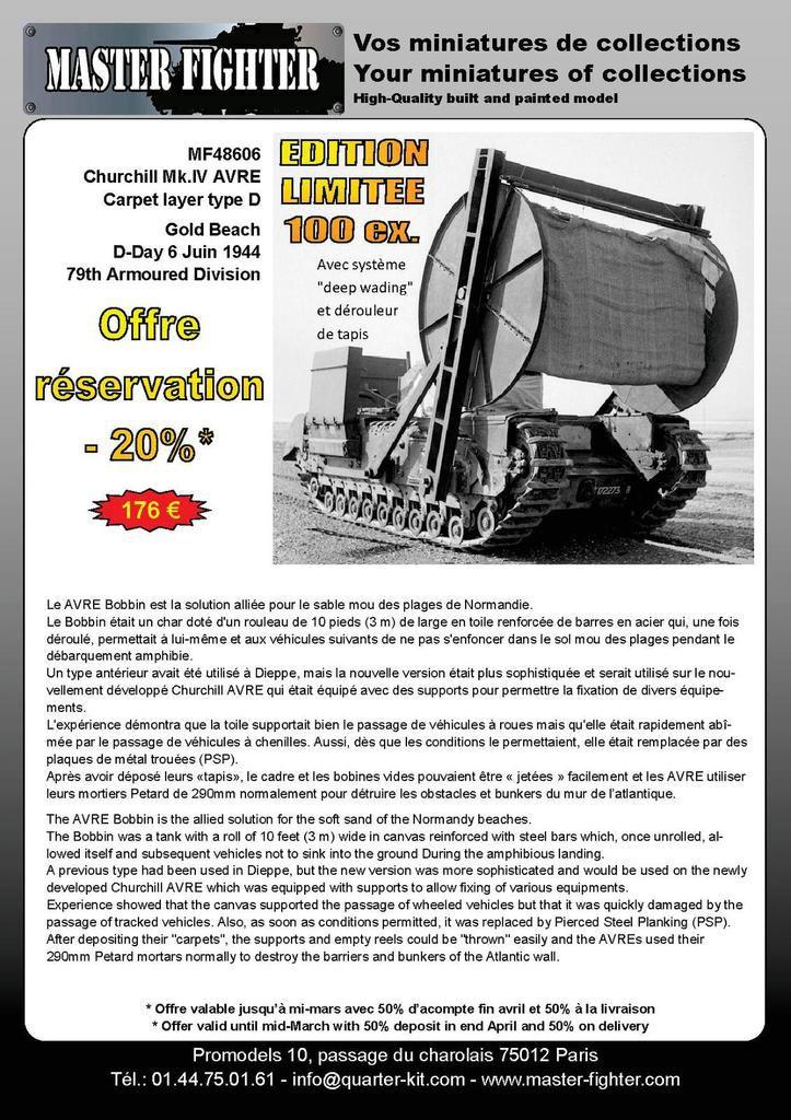 Nouveautés Quarter-kit, Gaso.Line et Master Fighter