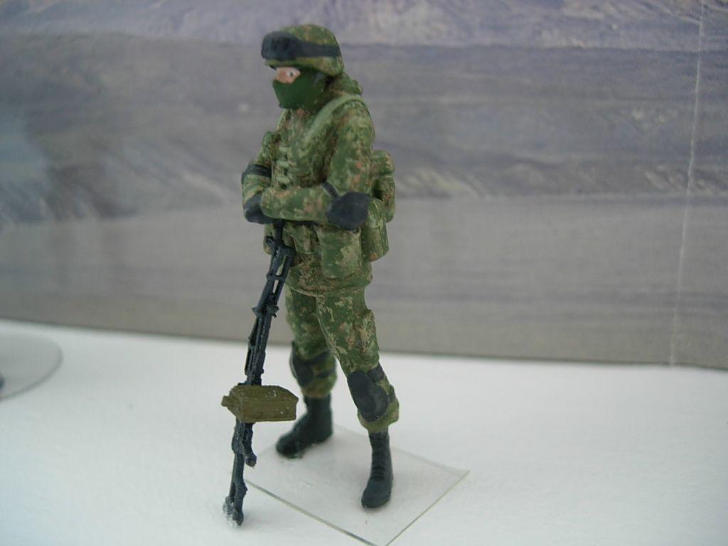 Figurines de soldats russes au 1:43 (par Bob)