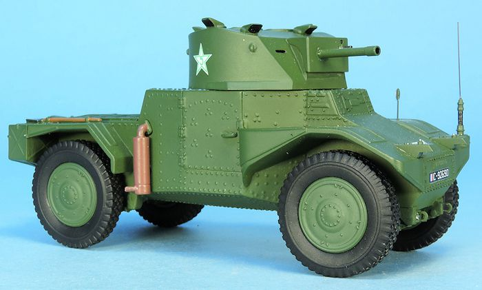 Automitrailleuse Panhard AMD 178 au 1/48 (Master Fighter)