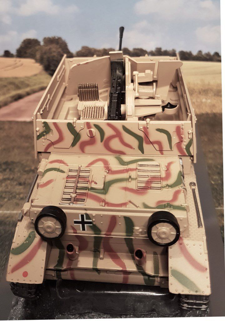 Flakpanzer IV/3.7cm Flak 43 Möbelwagen au 1/43 (Altaya/Ixo)