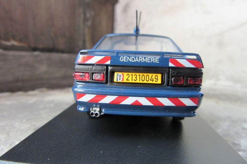 Les Renault 21 Gendarmerie au 1/43