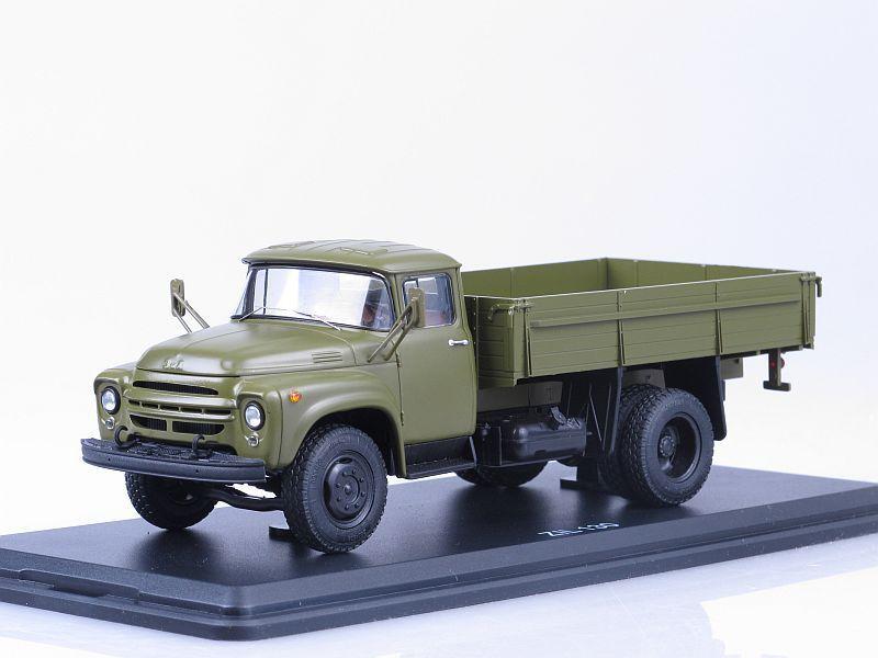 SSM1005 ZIL-130 flatbed truck /khaki/