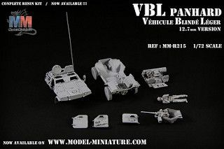 Panhard VBL 12,7 mm au 1/72 (Model-Miniature)