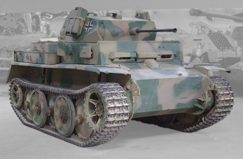 PZ KPFW II Ausf Luchs au 1/43 (Altaya/Ixo)