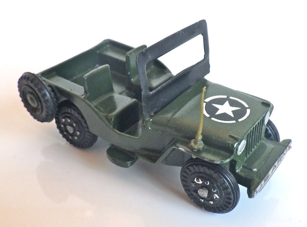 Collector : Jeep CJ3B au 1/43 de NICKY TOYS (par jérôme Hadacek)