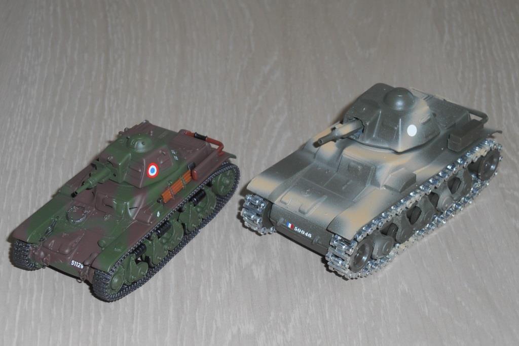 Char Renault R35 et R39 au 1/48 (Master Fighter)