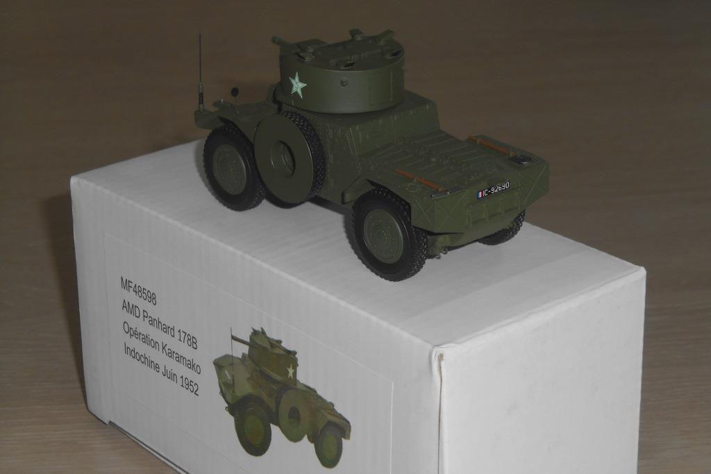 L'AMD-178B aux couleurs de l'Armée française en Indochine...