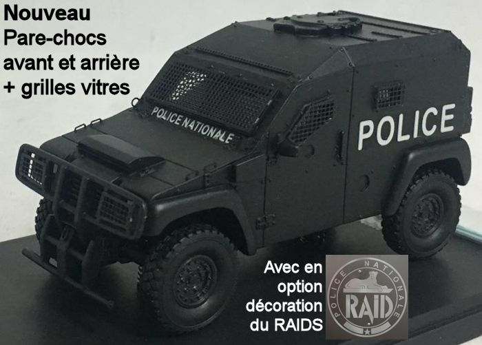Panhard PVP Police et RAID au 1/48 (Master Fighter)