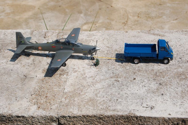 Modif : Renault Master 70 de servitude Armée de l'air (par Yves P.)
