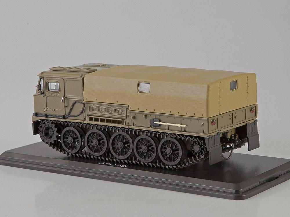 SSM3007 : Artillery crawler tractor ATS-59G