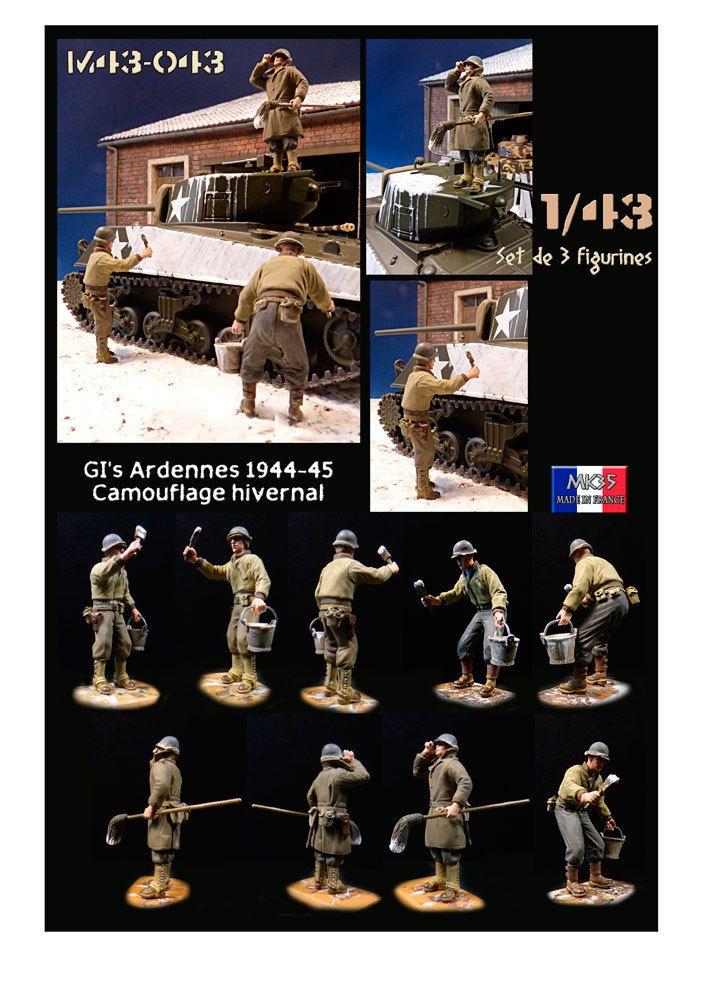 Figurines et accessoires au 1/43 (MK35) - Seconde partie