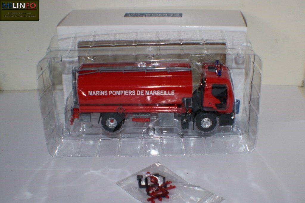 Comme toujours chez Eligor, la minaiture est bien protégée dans sa boîte... Un atout pour le transport !