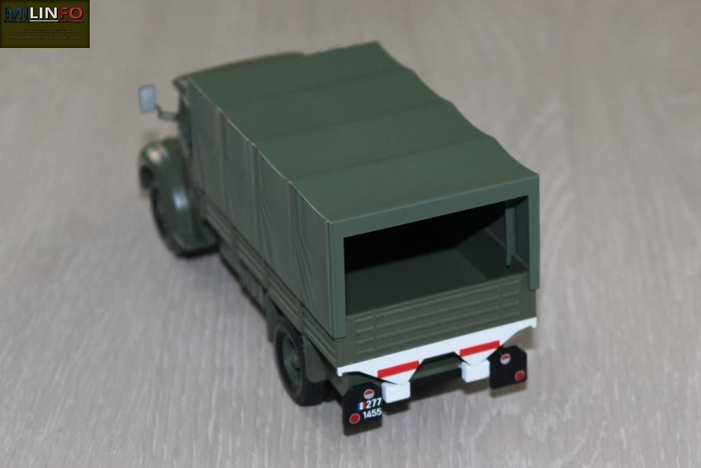Berliet GLR 8 au 1/43 (Direkt-Collections/Ixo)