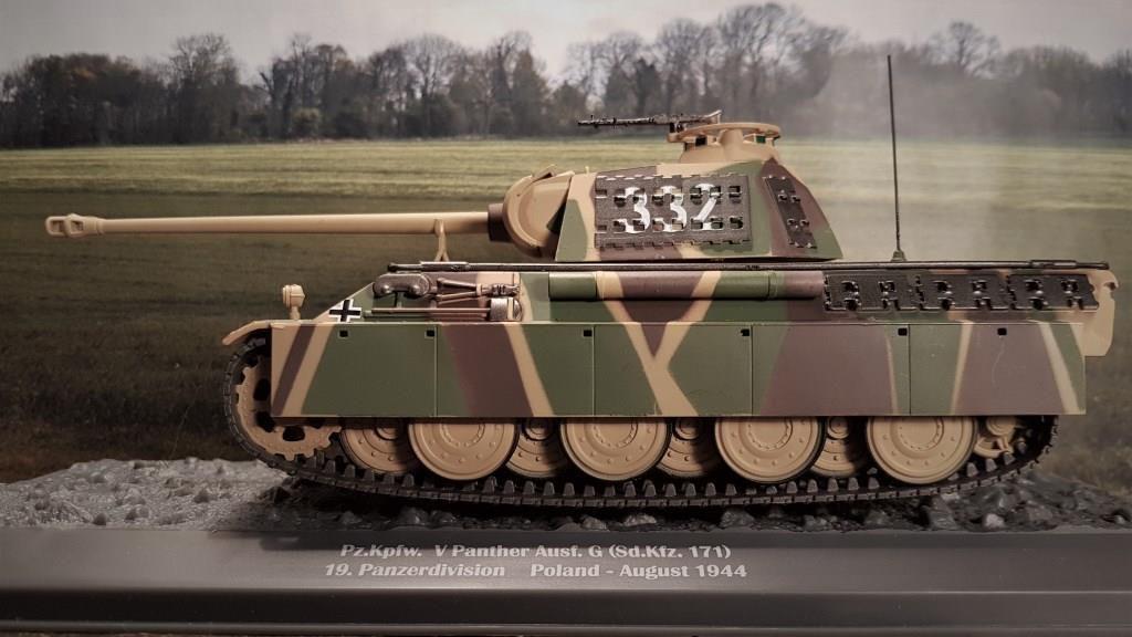 PZ. KPFW. V Panther AUSF. A  au 1/43 (Altaya/Ixo)
