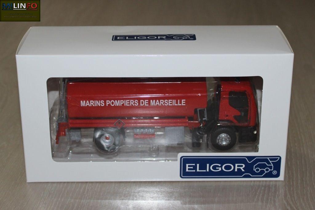"""La boîte et l'embalalge de la miniature... conformes aus """"habitudes"""" Eligor..."""