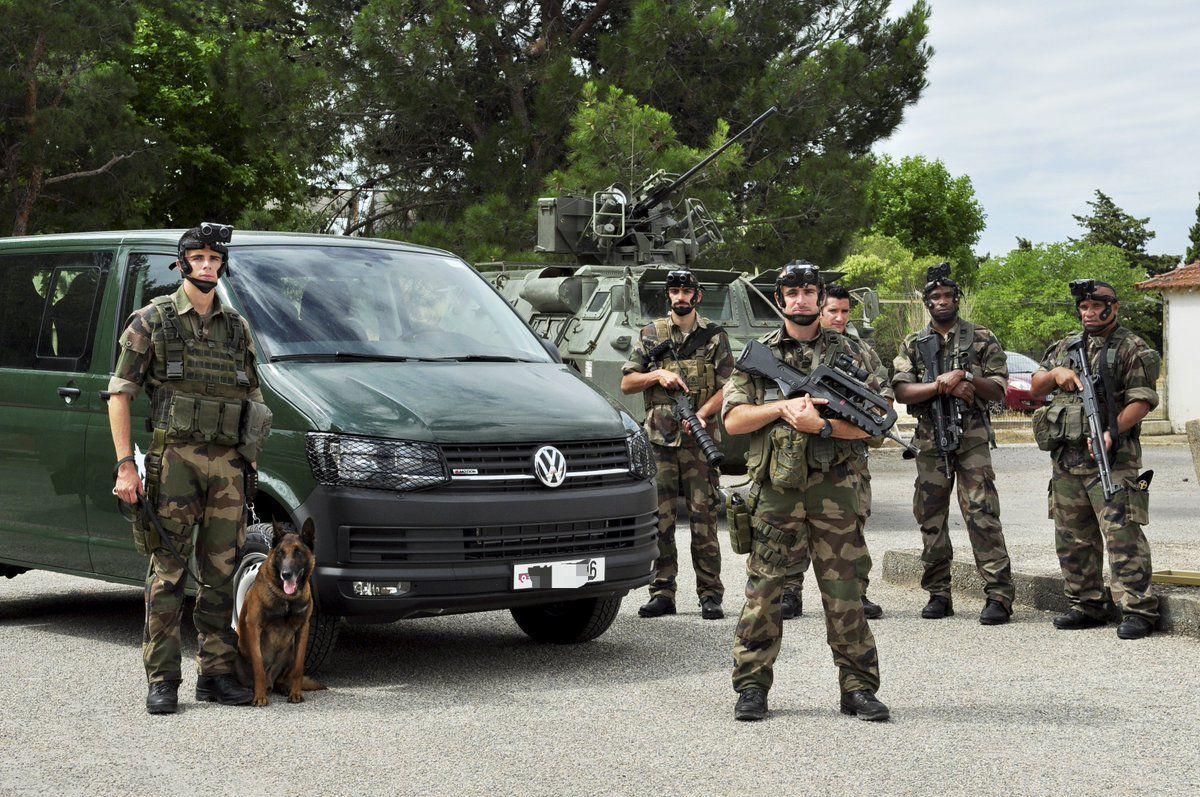 Véhicules&amp&#x3B;matériels : Volkswagen Rockton TDI des commandos de l'air