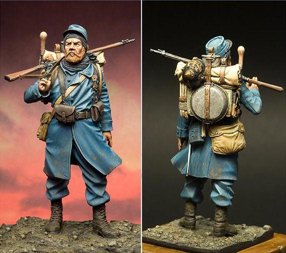 La figurine telle que présentée par JMD