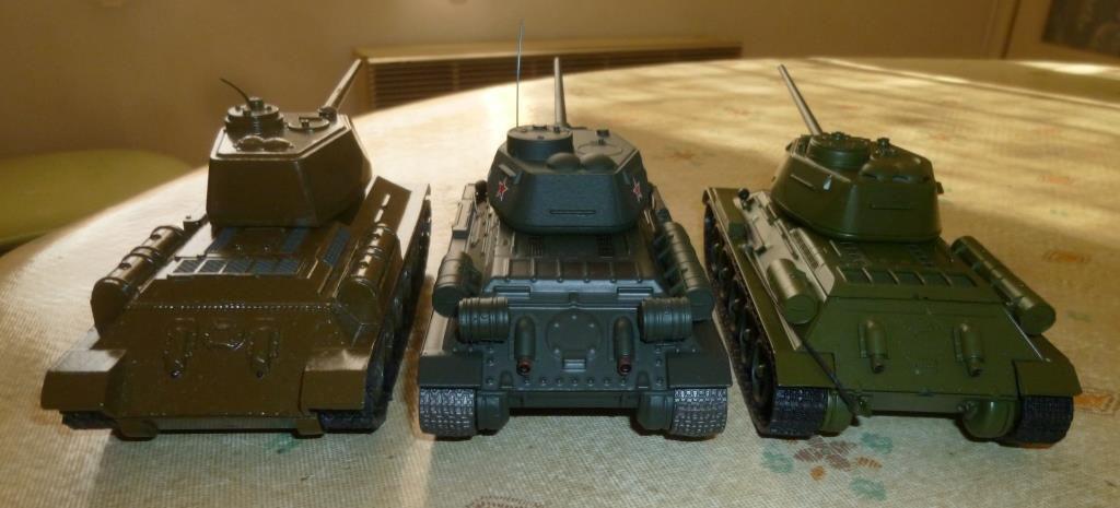 Char T-34/85 au 1/43 (par Hervé C.)