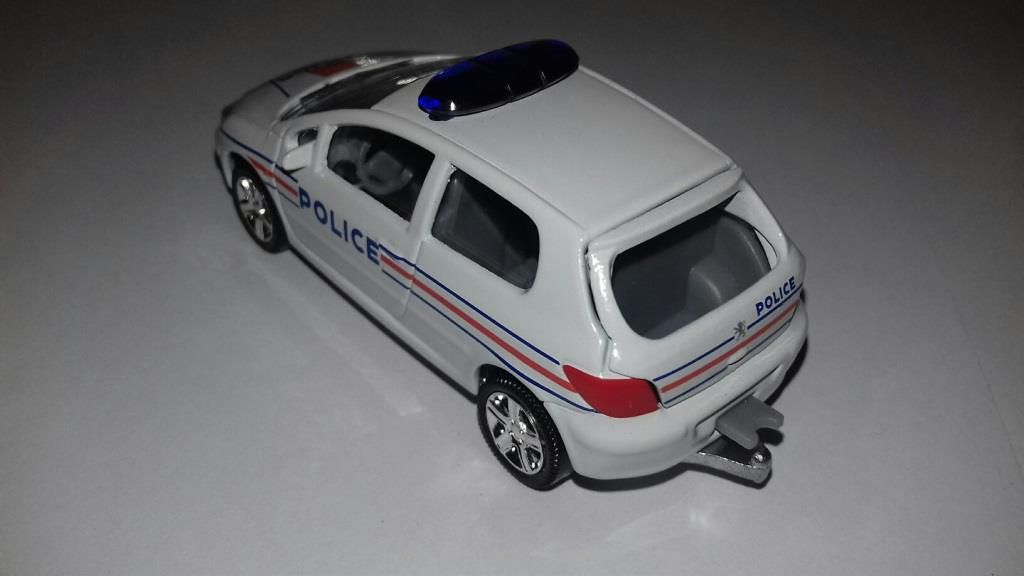 Peugeot 307 Police