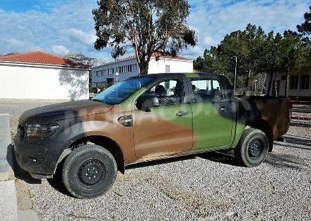 Alarme 17 Ford RANGER DOUBLE CABINE 2016 ARMEE CAMOUFLAGE 3 TONS OTAN 1//43