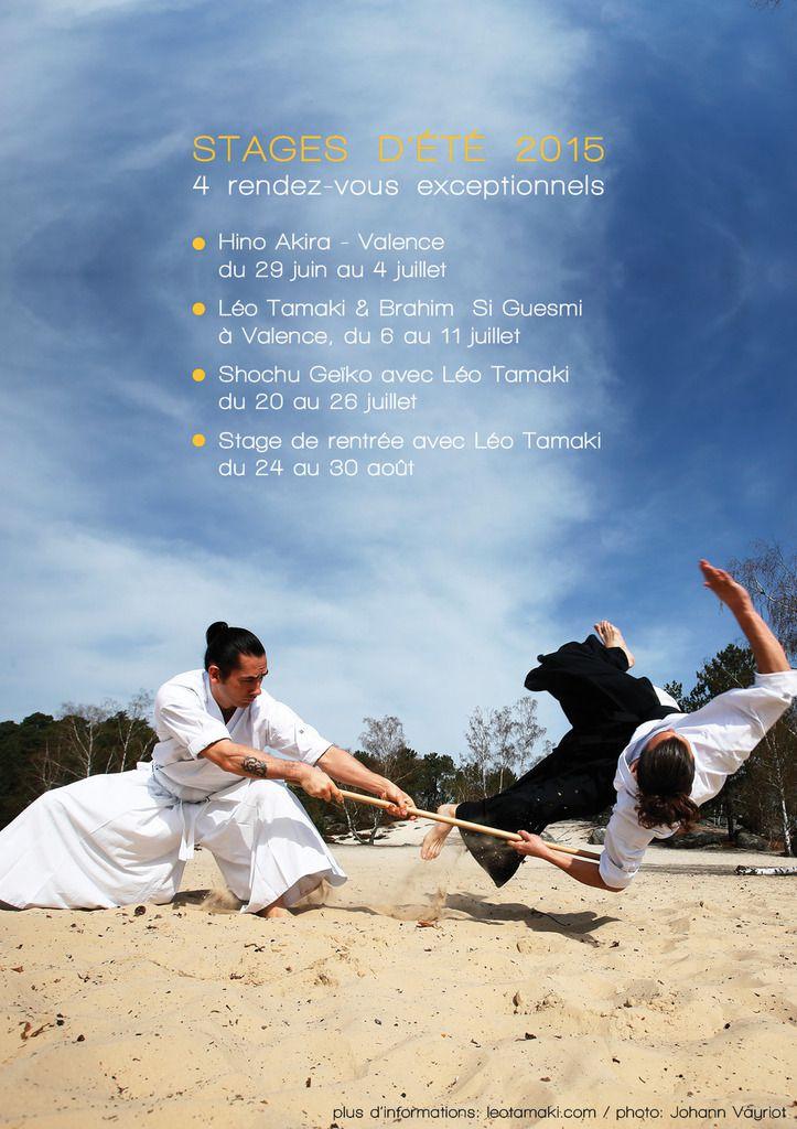 Brahim Si Guesmi et Léo Tamaki à Valence, 6 au 11 juillet