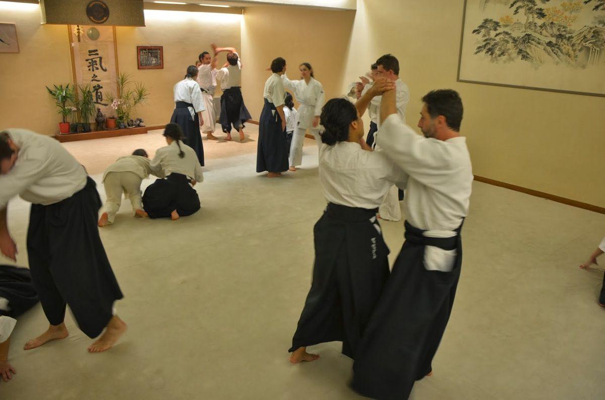Cours Aïkido ouvert à tous jeudi 14 mai, Korindo