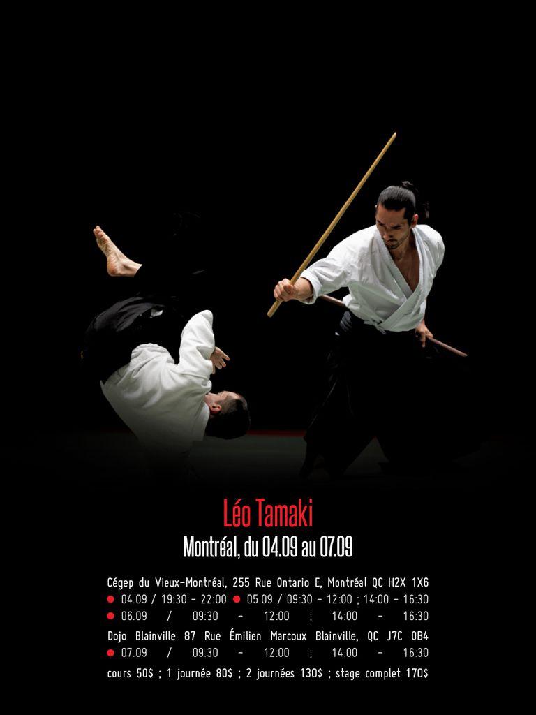 Léo Tamaki à Montréal, 4 au 7 septembre