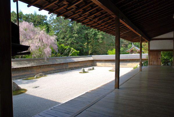 Ryoan-ji, jardin zen de Kyoto