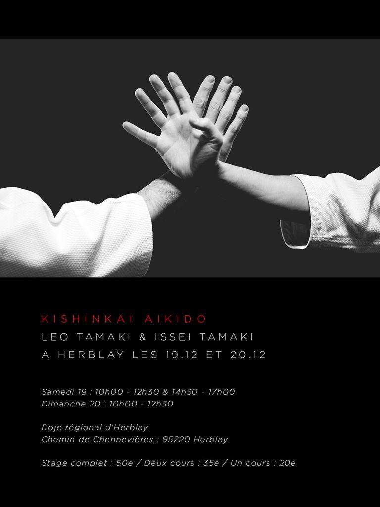 Léo et Isseï Tamaki à Herblay, 19 et 20 décembre