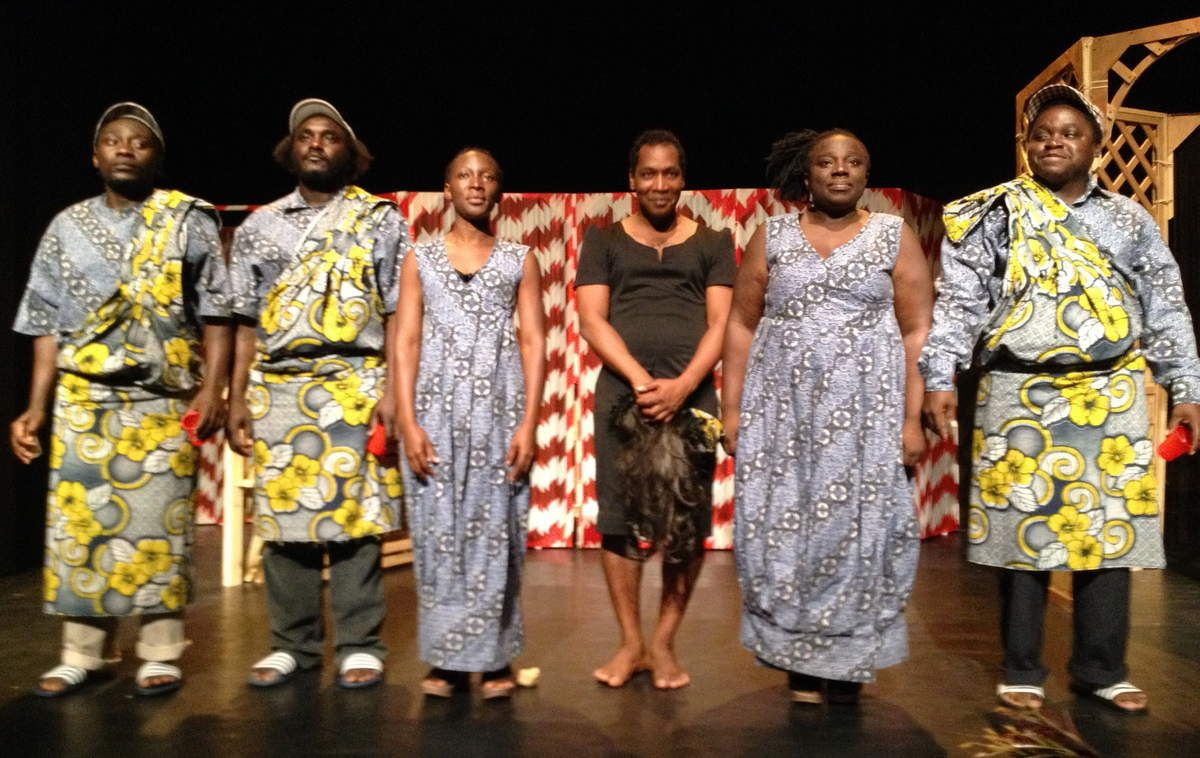 Rosenal Geddeman, Belisong Kwadjani, Kimmy Amiemba, Grégory Alexander, Nolinie Kwadjanie et Carlos Rémie Seedo