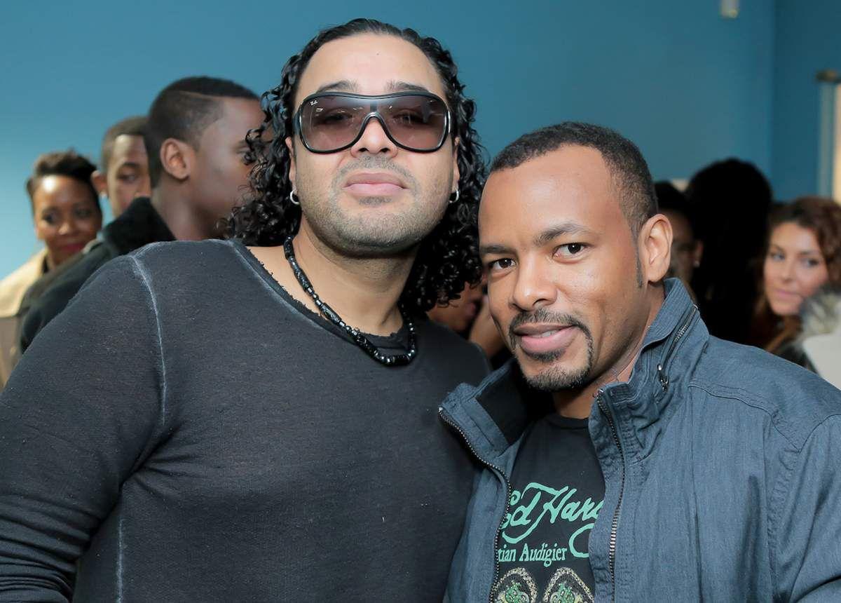 Ali Angel , co-producteur de l'album de Yoan, et Joël Roch