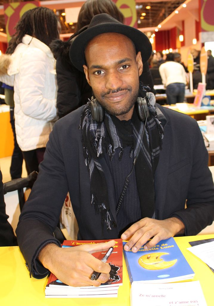 Quincy Gane au salon du livre de Paris en mars 2016