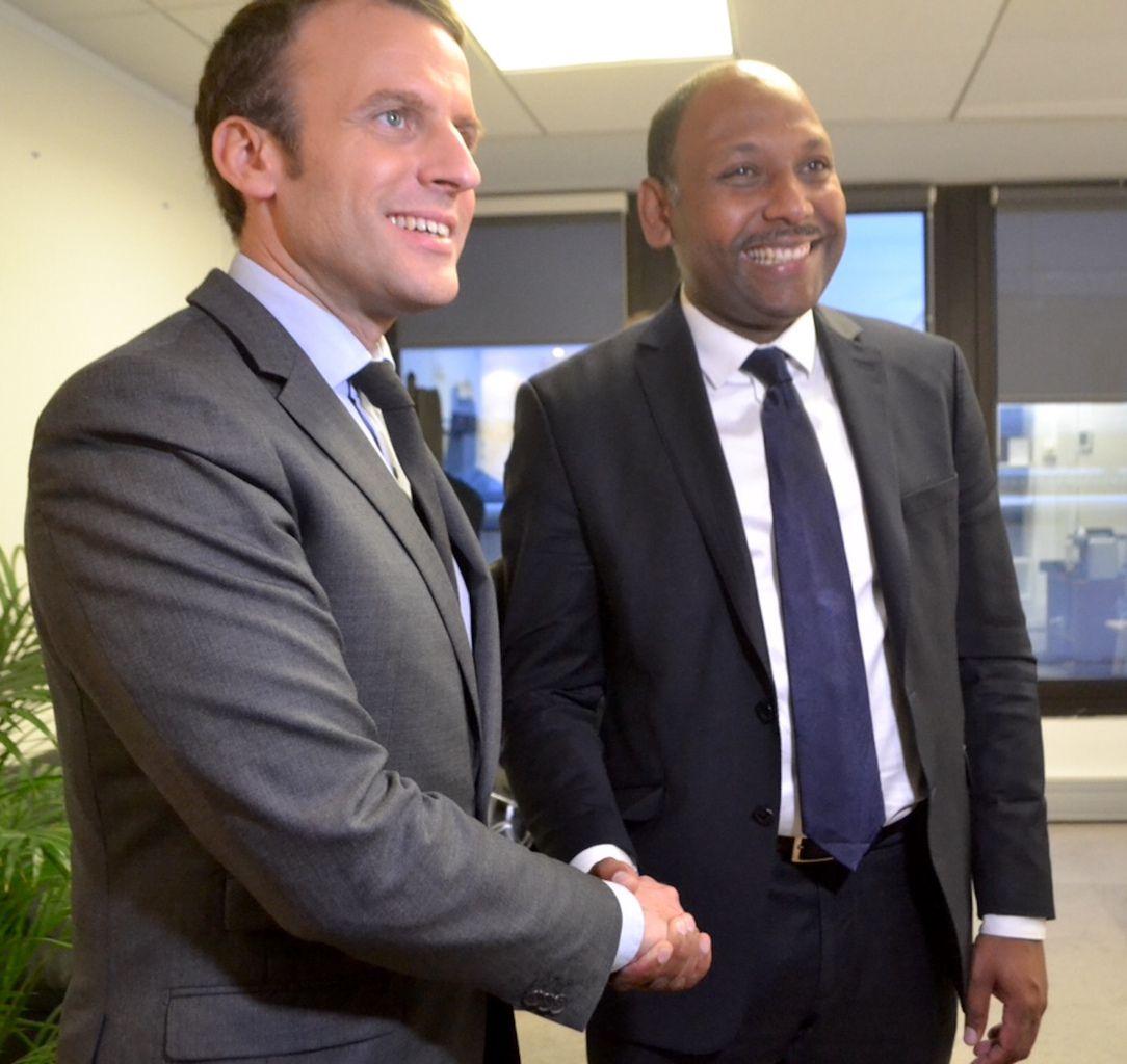 Thierry Robert chez Macron
