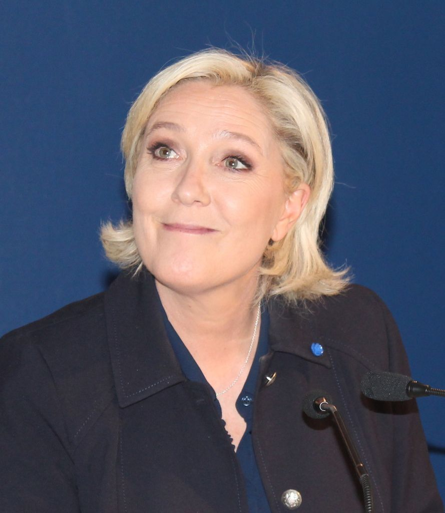 ITW Marine Le Pen - Outre-mer
