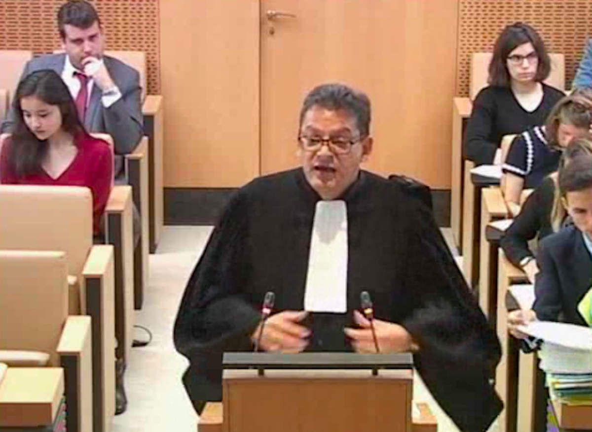 Me Lingibé devant les sages du Conseil Constitutuionnel le 23 mai dernier
