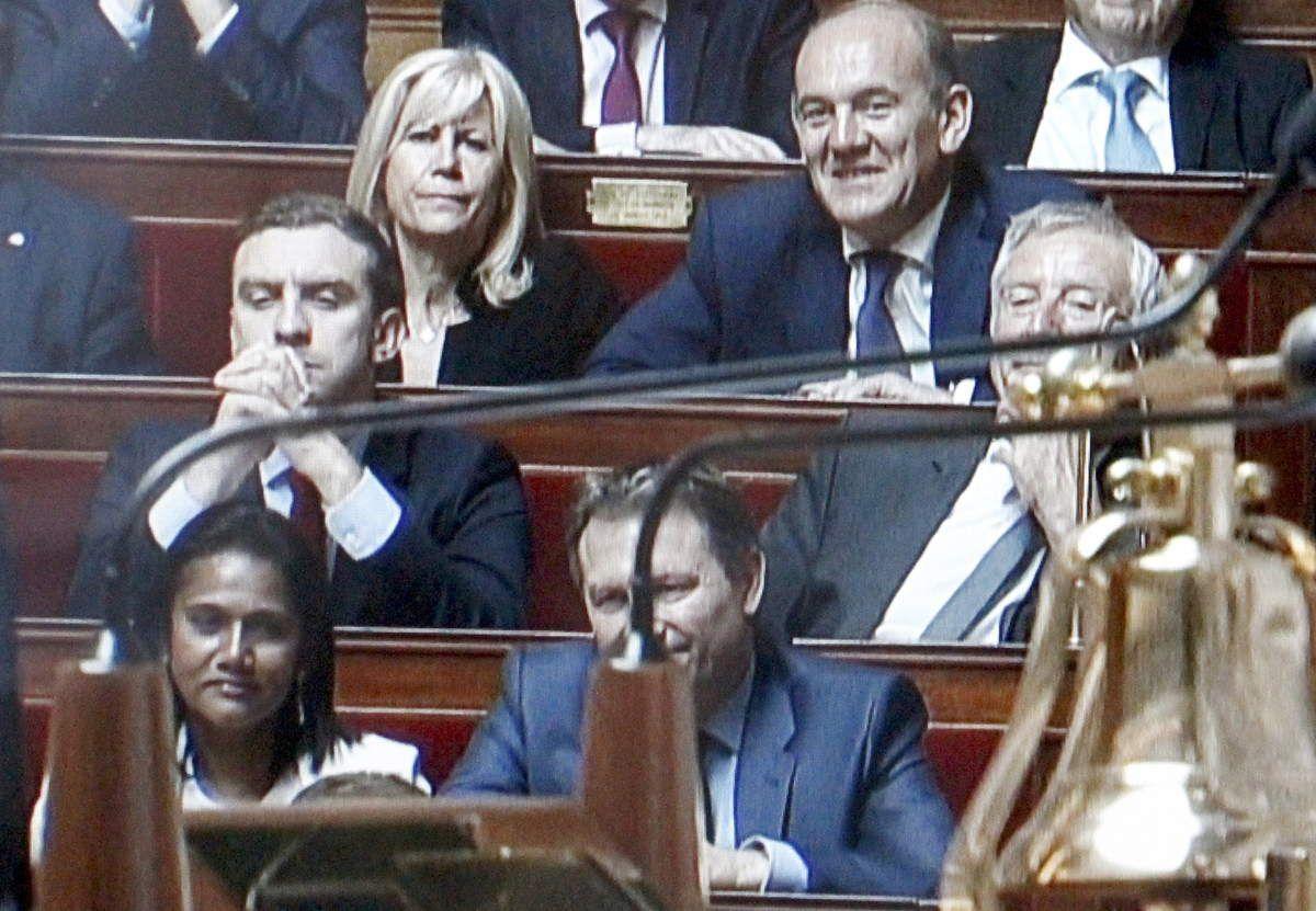 Vote de la confiance à Edouard Philippe - Réunion
