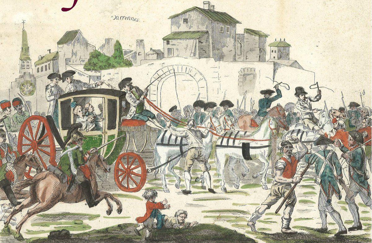 Au temps où j'étudiais l'Histoire de France Sainte-Menehould entra dans ma mémoire grâce à Louis XVI et son goût pour les pieds de cochon.