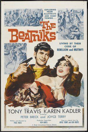 Les Beatniks : la ligne de crête de 1965 où s'amorce 1 changement des mœurs dans des domaines et sur des thèmes qui touchent aux sensibilités profondes : la foi, la pudeur, le plaisir.