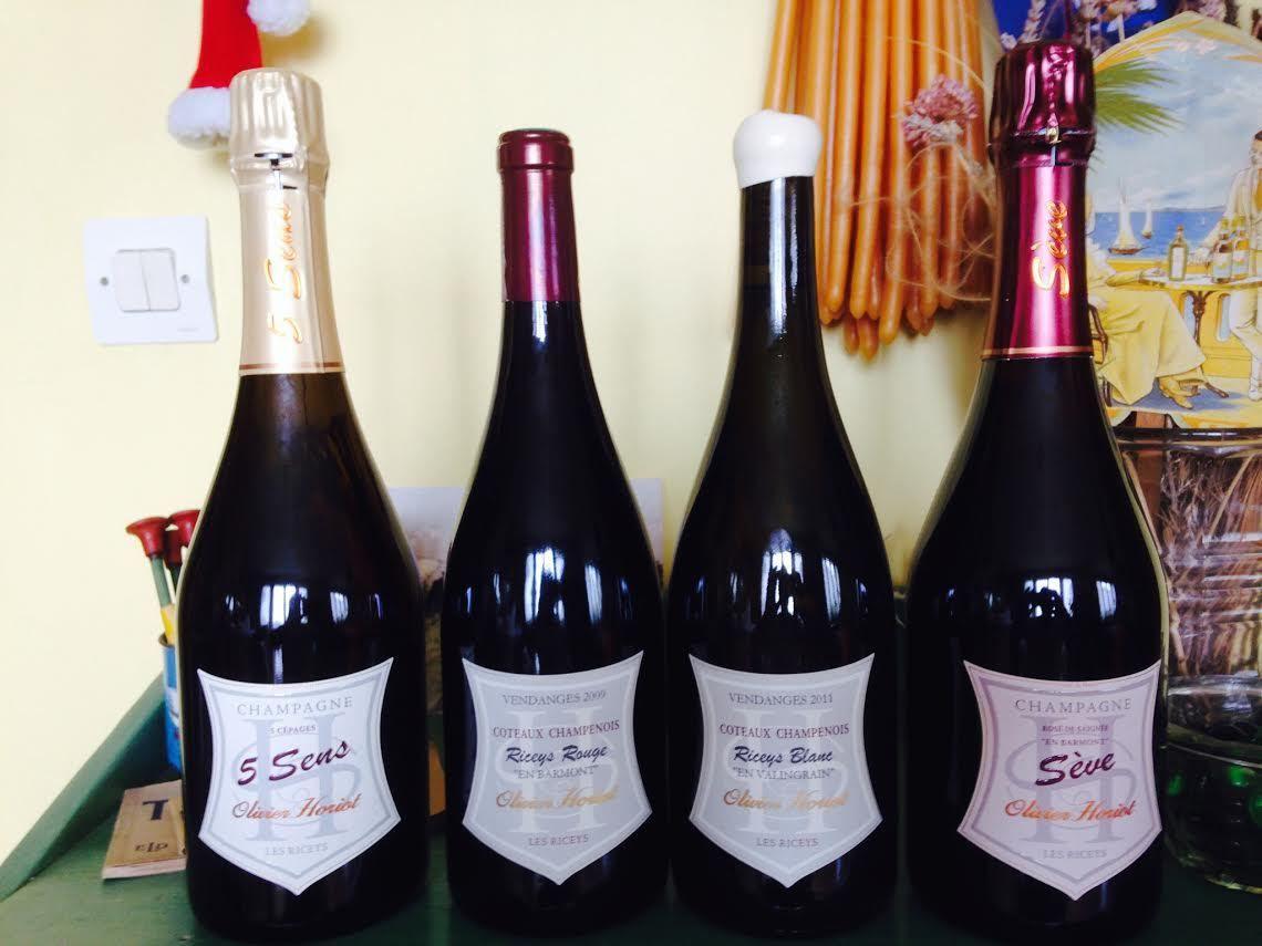 Et si vous veniez vous aussi palisser aux Riceys les vignes d'Olivier Horiot aux confins de la Champagne et de la Basse-Bourgogne ?