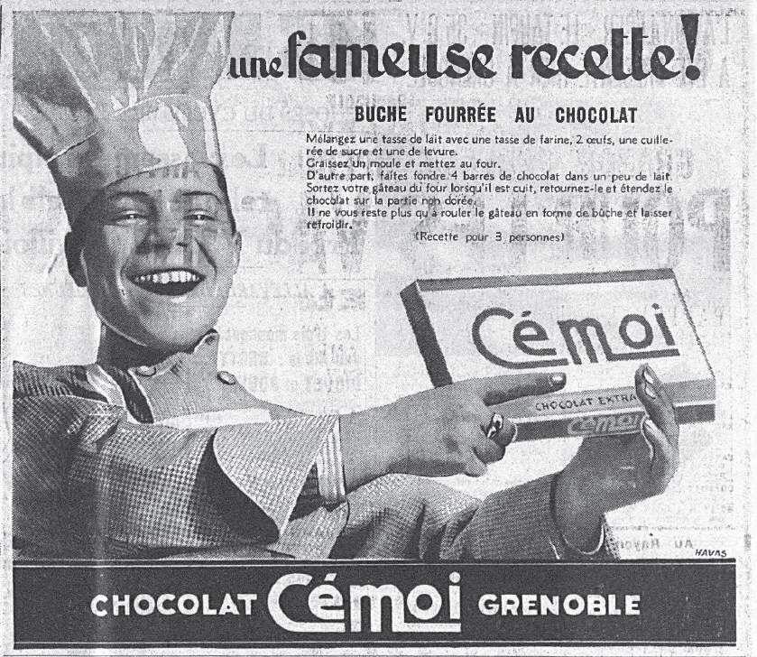 « Dubuffet parla d'art brut, le mot fit fortune et je restai chocolat » et moi j'aime le chocolat à cuire Cémoi et les cigarettes en chocolat!