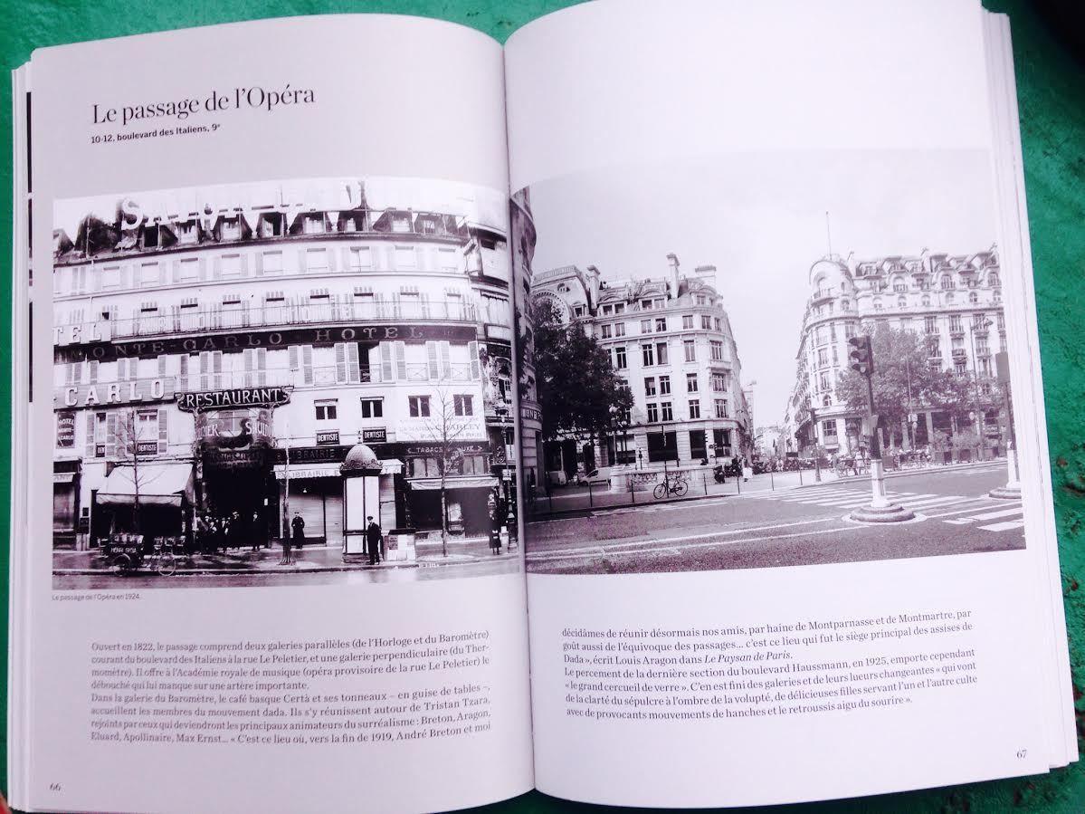 Passages disparus de Paris celui de l'Opéra et son café Certa, Aragon y était sensible au charme de la jeune femme qui tenait la caisse et à son Porto…