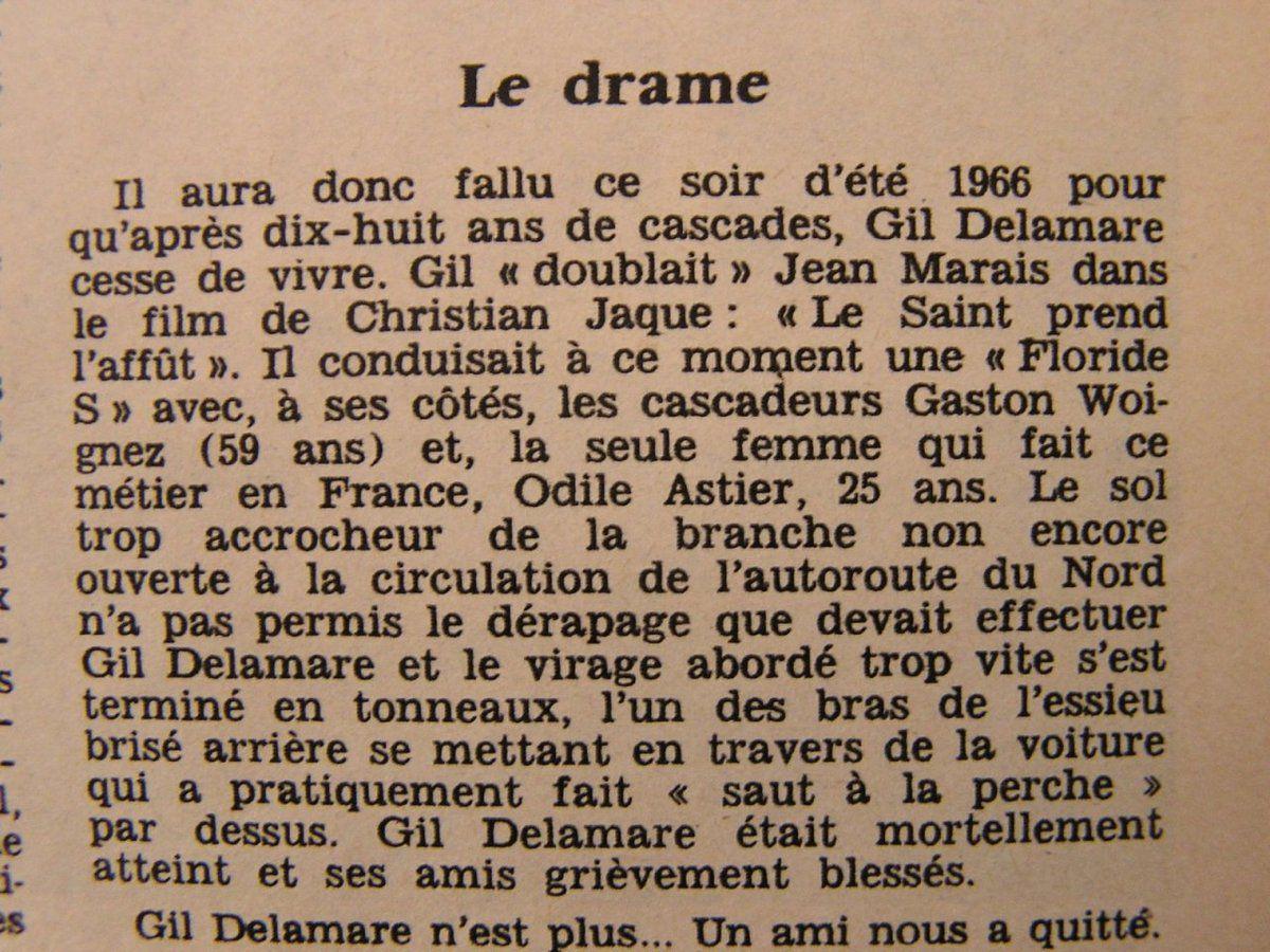 La Floride S de Gil Delamare à Jean  Rochefort… souvenir du Taulier…