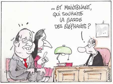CHAP.15 opération Chartrons, «Hollande est tellement traumatisé qu'il ne veut plus entendre parler de « première dame »