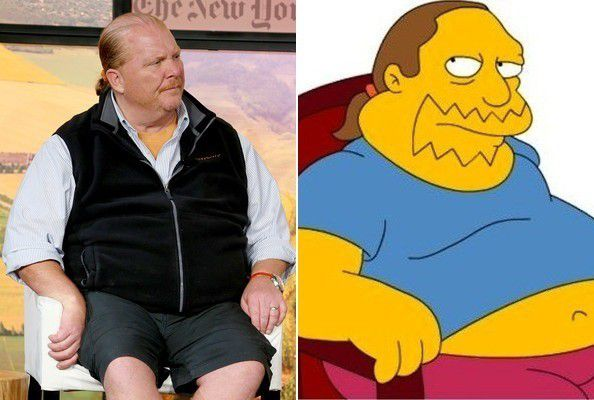 Mario Batali as Comic Book Guy By Darrick Thomas on November 25, 2014