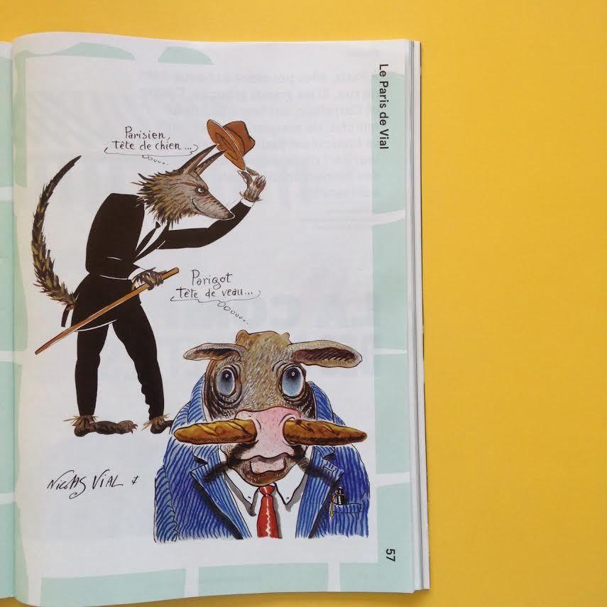 La traversée de Paris : le journal d'un parisien tête de chien, parigot tête de veau qui adore la poule au blanc