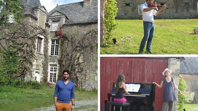 La musique adoucit les mœurs et le vin réchauffe les cœurs : le festival Musica Vini au château de Linières à Ballée dans la Sarthe…