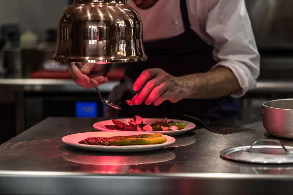 Mon enclave d'Italie à Paris : le beau reffetorio de Giovanni Passerini où j'aime me restaurer d'une cuisine joyeuse et inventive.