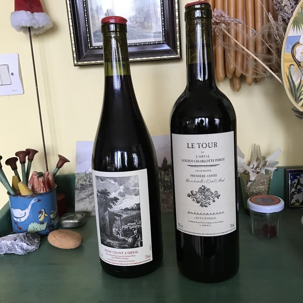 Mes lecteurs sont sympas ! Louis &amp&#x3B; Charlotte Perot L'Ostal – Philippe Gervoson château Larrivet Haut-Brion