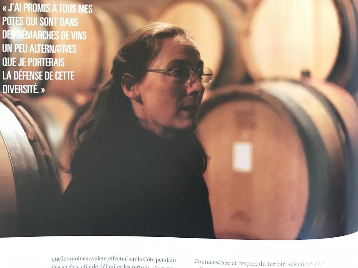 « Mon projet, ce n'est pas d'être en bio dans 20 ans, c'est de ne plus traiter. » Claire Naudin vigneronne des Hautes Côtes de Beaune